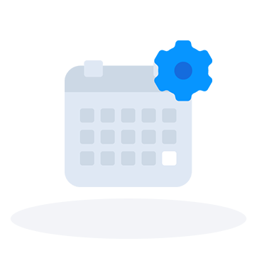 Appointment setting calendar icon